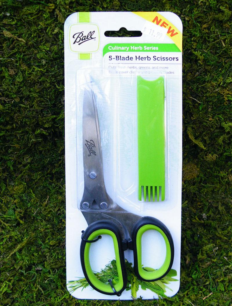 5 Blade Herb Scissors Ballantyne Gardens
