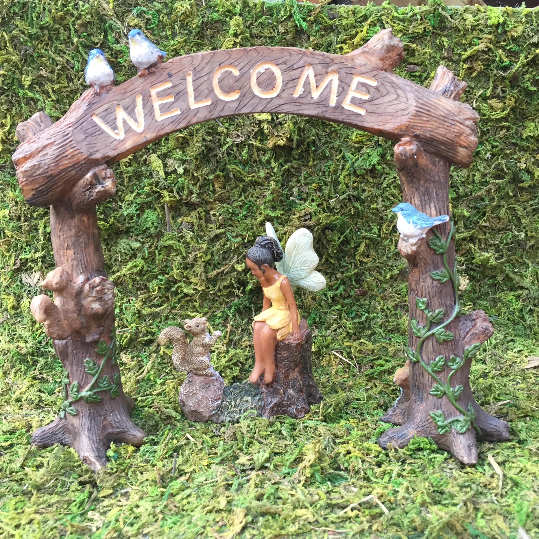 Fairy Welcome Arch Ballantyne Gardens