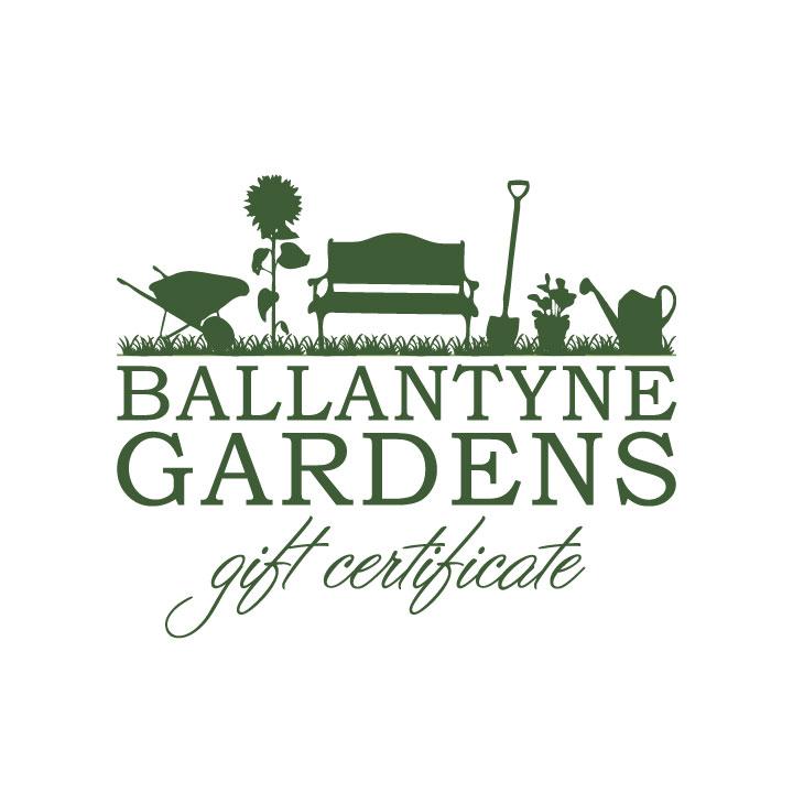 Ballantyne Gardens Gift Certificate Ballantyne Gardens
