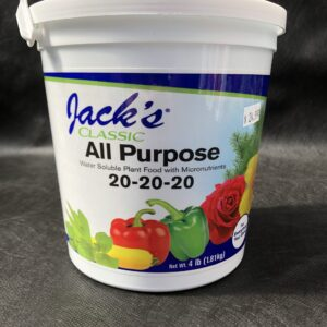 Jacks water soluble plant food