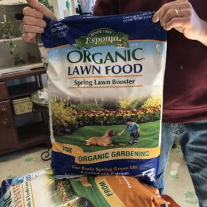 Organic Lawn Food Spring Lawn Booster