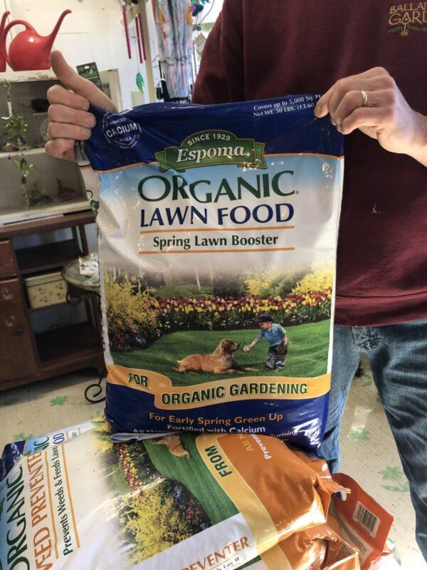 Organic Lawn Food Spring Lawn Booster