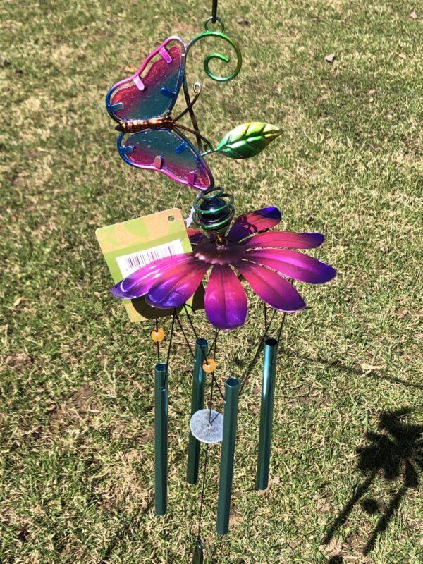 Butterfly/ Flower Wind Chime