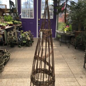 "5"" Willow Obelisk-spiral"