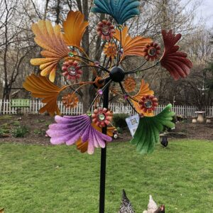 Large Kinetic Garden Sculpture