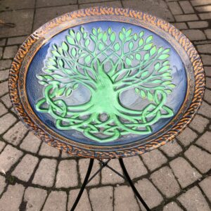 Tree Of Life Birdbath with stand