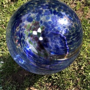 Blue Secled Gazing Ball