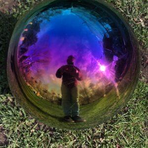 Stainless Steel Gazing Ball