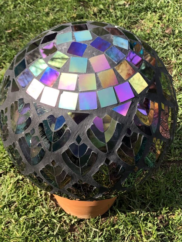 Glass Mozaic Gazing Ball